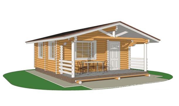Проекты домов - коттеджей из кирпича - фото и цены от 150