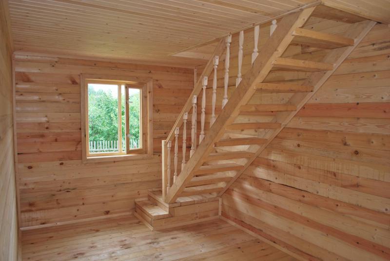 Как сделать деревянную мансарду